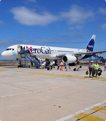 Galapagos flights