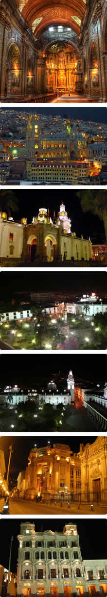 Quito Colonial by night Tour