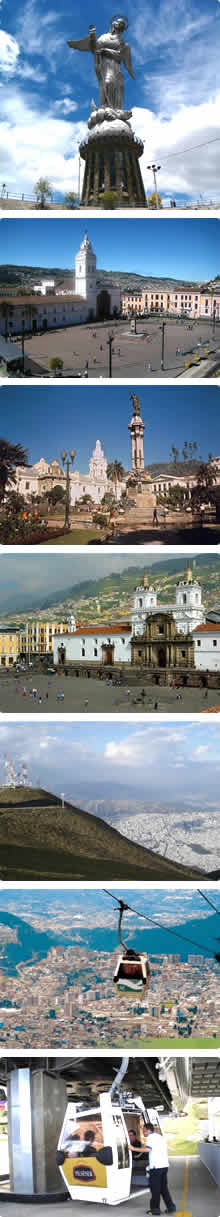 Colonial Quito City Tour and Teleferico
